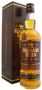 Highland Queen Scotch 8 Year 750ml